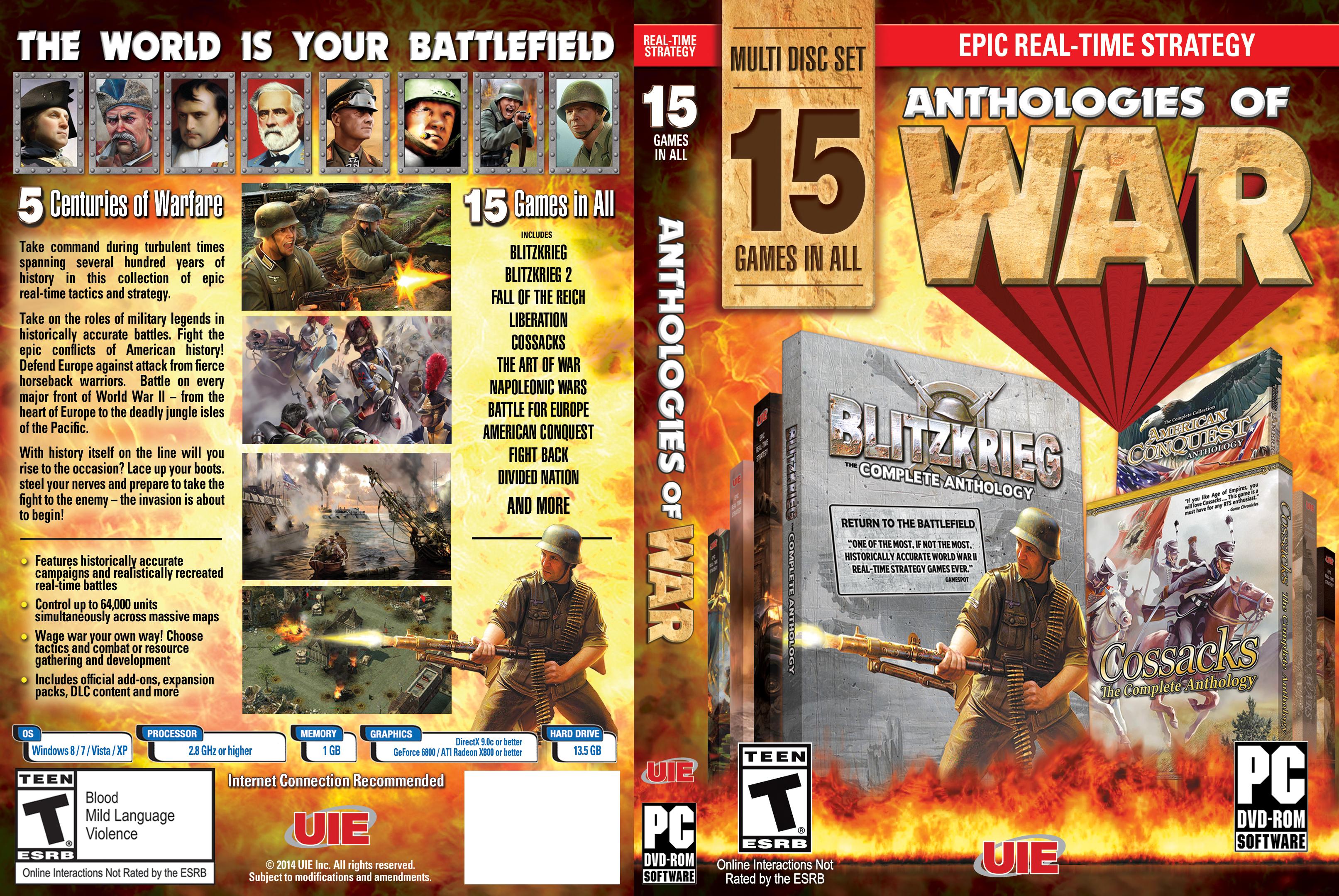 Anthologies of War Panels